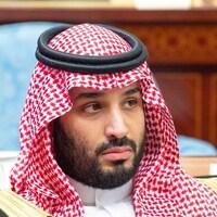 Le prince héritier Mohammed ben Salmane assiste à une session du Conseil de la Choura à Riyad.