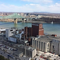 La brasserie Molson à Montréal