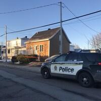 Le corps d'une femme de 69 ans a été retrouvé dans cette résidence de Montmagny.