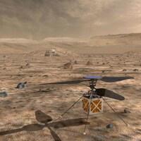 L'hélicoptère de la NASA destiné à la planète Mars sera lancé en 2020.