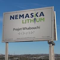 Le projet Whabouchi de Nemaska Lithium.