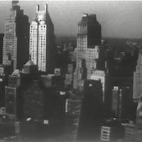 Plongée sur les gratte-ciel du centre-ville de New York
