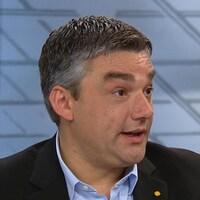 Nicholas Tsouflidis, président de la chaîne de restaurants Cora