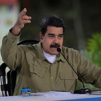 Le président vénézuélien lors de son allocution hebdomadaire « Les dimanches avec Maduro », à la télévision d'État