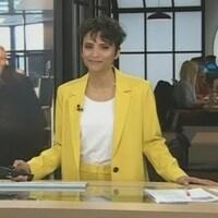 À la première édition de Noovo Le Fil, l'animatrice Noémi Mercier a présenté une entrevue préenregistrée avec le premier ministre François Legault.