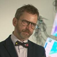 Norbert Langlois, directeur et copropriétaire de la galerie 3.