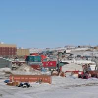 Iqaluit au printemps.