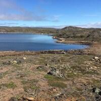 Le lac Geraldine est le principal réservoir d'eau d'Iqaluit.
