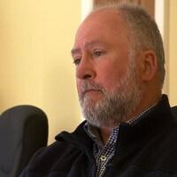O'Neil Cloutier, directeur général du Regroupement des pêcheurs professionnels du sud de la Gaspésie.