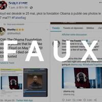 C'est une capture d'écran d'une publication Facebook.
