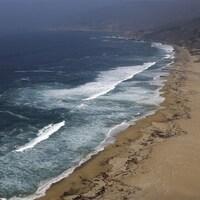 Vue de l'océan pacifique.