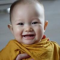 Le petit Octave, 7 mois, est le fils de deux médecins.
