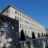 Le siège de l'Organisation mondiale du commerce (OMC) à Genève, en Suisse.