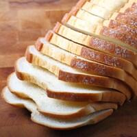 Du pain tranché.