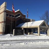 Palais de justice de North Bay, en Ontario.