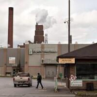 L'usine de Papiers White Birch, à Québec