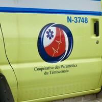 Le logo de la CPT sur une ambulance.