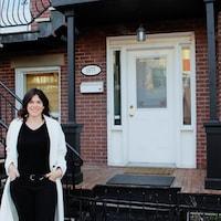 Pascale Sirard vit depuis de très nombreuses années dans un appartement du Plateau-Mont-Royal.