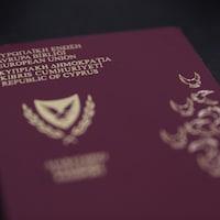 Un passeport chypriote.
