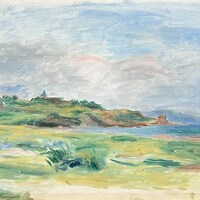 « Golfe, mer, falaises vertes » de Renoir