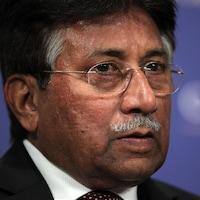 Plan rapproché de M. Musharraf