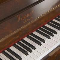 Le clavier d'un piano.