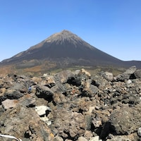 Le volcan Pico de Fogo.