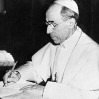 Le pape Pie XII.
