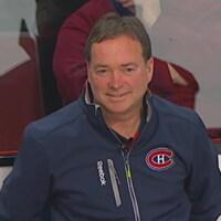 Pierre Gervais, gérant de l'équipement du Canadien de Montréal