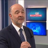 Pierre Moscovici, commissaire européen aux Affaires économiques et financières