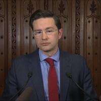 Le porte-parole conservateur en matière de finances, Pierre Poilievre, critique la mise à jour économique de Bill Morneau.