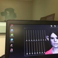 Un avatar que doit confronter un patient schizophrène participant au projet-pilote