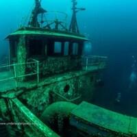 Le naufrage d'un bateau historique, Niagara II.