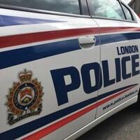 Une image d'une voiture de la police de London en Ontario.