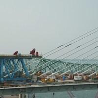 Détail du pont Samuel-De Champlain