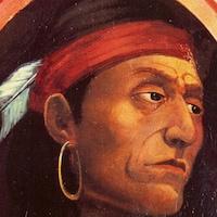 Pontiac, un des grands personnages de l'histoire de l'Amérique.