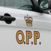 Un véhicule de la Police provinciale de l'Ontario.