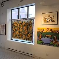 La galerie AMF propose KAKAKWE,  une sélection d'œuvres d'artistes autochtones d'un peu partout au pays..