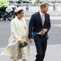 Meghan et le Prince Harry lors d'un évènement officiel.