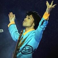 Prince au spectacle de la mi-temps du Super Bowl en 2007