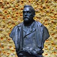 Un buste d'Alfred Nobel
