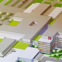 Projet de mégahôpital de Windsor