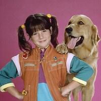 Punky Brewster et son chien