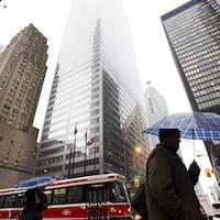 Le quartier des affaires au centre-ville de Toronto