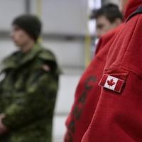 La manche d'un Ranger canadien.