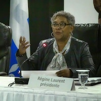 Régine Laurent.