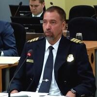 Sylvain Renaud, inspecteur à la division des normes professionnelles et des affaires internes au Service de police de la Ville de Gatineau.