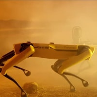 Le chien-robot de Boston Dynamics, Spot.