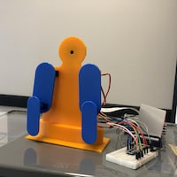 Un robot en intelligence artificielle.
