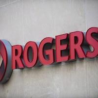L'enseigne de Rogers Communications.